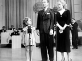 Poor Little Rich Girl, Shirley Temple, Jack Haley, Alice Faye, 1936 Poster