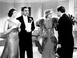 Libeled Lady, Myrna Loy, William Powell, Jean Harlow, Spencer Tracy, 1936 Print