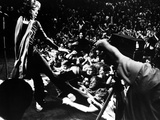 Gimme Shelter, Mick Jagger, 1970, Performing Onstage Photographie
