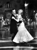 Top Hat, Fred Astaire, Ginger Rogers, 1935, Dancing Kunstdruck
