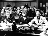 Adam's Rib, Spencer Tracy, David Wayne, Judy Holliday, Katharine Hepburn, 1949 Pósters