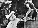 Orphans Of The Storm, Lillian Gish, Dorothy Gish, 1921 Photo