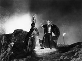 Macbeth, Dan O'Herlihy, Orson Welles, 1948 Photo