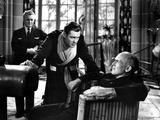 Here Comes Mr. Jordan, Claude Rains, Robert Montgomery, James Gleason, 1941 Photo