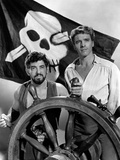 The Crimson Pirate, Nick Cravat, Burt Lancaster, 1952 Photo