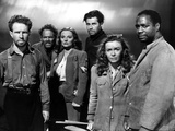 Lifeboat, Hume Cronyn, Henry Hull, Tallulah Bankhead, John Hodiak, Mary Anderson, Canada Lee, 1944 Photo