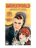 Underworld, Clive Brook, Evelyn Brent, 1927 Photo