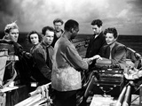 Lifeboat, Bendix, Anderson, Cronyn, Slezak, Lee, Hodiak, Bankhead, 1944 Photo