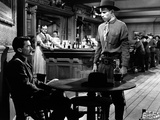 The Gunfighter, Gregory Peck, Karl Malden, Skip Homeier, 1950 Photo