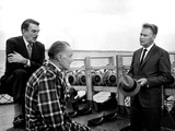 Advise And Consent, Walter Pidgeon, Franchot Tone, Lew Ayres, 1962 Photo