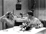 The Public Enemy, Mae Clarke, James Cagney, 1931, Domestic Fight With Grapefruit Photo