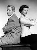 Adam's Rib, Spencer Tracy, Katharine Hepburn, 1949 Posters