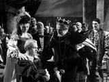 Hamlet, Eileen Herlie, Laurence Olivier, Basil Sydney, 1948 Photo