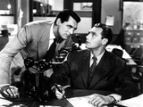 His Girl Friday, Cary Grant, Ralph Bellamy, 1940 Photo