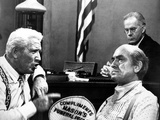 Inherit The Wind, Spencer Tracy, Harry Morgan, Fredric March, 1960 Photo