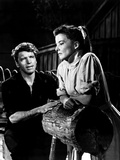 The Rainmaker, Burt Lancaster, Katharine Hepburn, 1956 Photo