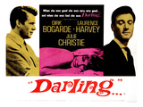 Darling, Dirk Bogarde, Julie Christie, Laurence Harvey, 1965 Photo
