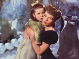 Meet Me In St. Louis, Margaret O'Brien, Judy Garland, 1944 Print