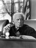 Judgment At Nuremberg, Spencer Tracy, 1961 Print