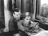 The Man Between, Geoffrey Toone, Hildegarde Knef, 1953 Photo