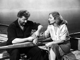 Lifeboat, Walter Slezak, Tallulah Bankhead, 1944 Photo