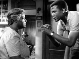 A Raisin In The Sun, Claudia McNeil, Sidney Poitier, 1961 Photo