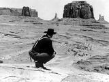 The Searchers, John Wayne, 1956 Photographie