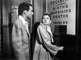 Place In The Sun, Montgomery Clift, Shelley Winters, 1951, License Bureau Photo