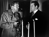 Raw Deal, Dennis O'Keefe, Raymond Burr, 1948 Photo