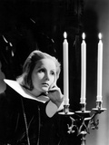 Queen Christina, Greta Garbo, Portrait By Clarence Sinclair Bull, 1933 Photo