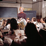 Prime Of Miss Jean Brodie, Maggie Smith, Diane Grayson, Shirley Steedman, Pamela Franklin, 1969 Photo