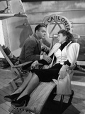 Flesh And Fantasy, Charles Boyer, Barbara Stanwyck, 1943 Photo