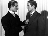 In Old Chicago, Don Ameche, Tyrone Power, 1937 Photo