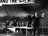 Elmer Gantry, Dean Jagger, Arthur Kennedy, Burt Lancaster, 1960 Photo