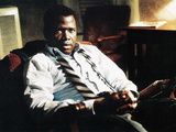 In The Heat Of The Night, Sidney Poitier, 1967 Photo