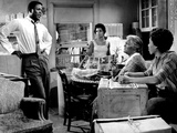A Raisin In The Sun, Sidney Poitier, Ruby Dee, Claudia McNeil, Diana Sands, 1961 Print