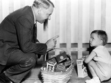 It's A Gift, W. C. Fields, Baby Leroy, 1934, Basket Prints