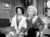 Gentlemen Prefer Blondes, Jane Russell, Marilyn Monroe, 1953 Photo