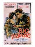The Big Parade, Renee Adoree, John Gilbert, 1925 Poster