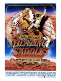 Blazing Saddles, Mel Brooks, Cleavon Little, 1974 Plakater