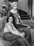 The Royal Family Of Broadway, Ina Claire, Mary Brian, 1930 Photo