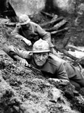 Paths Of Glory, Kirk Douglas, In The Trenches, 1957 Photo