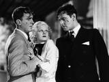 Bombshell, Pat O'Brien, Jean Harlow, Ivan Lebedeff, 1933 Photo