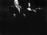 Plan 9 From Outer Space, Tor Johnson, Vampira, 1959 Photo