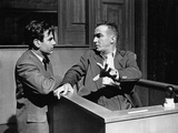 Judgment At Nuremberg, Maximillian Schell, Montgomery Clift, 1961 Photo