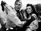 The Tall T, Randolph Scott, Maureen O'Sullivan, 1957 Prints