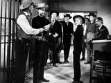 Forty Guns, Dean Jagger, John Ericson, Barry Sullivan, Gene Barry, Barbara Stanwyck, 1957 Photo