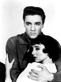 King Creole, Elvis Presley, Carolyn Jones, 1958 Photo