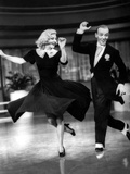 Swing Time, Ginger Rogers, Fred Astaire, 1936 Print