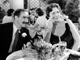 A Night At The Opera, Groucho Marx, Margaret Dumont, 1935 Julisteet